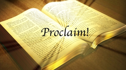 Proclaim still