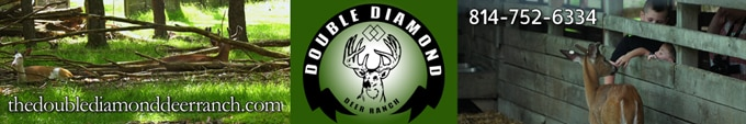 Double Diamond Deer Ranch sponsor ad