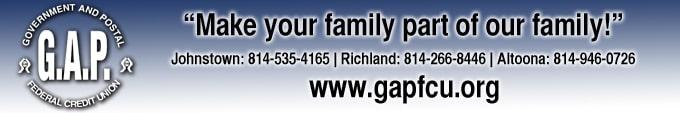 GAP Federal Credit Union sponsor ad