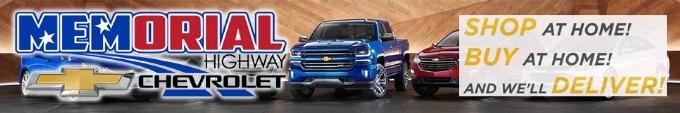 Memorial Highway Chevrolet sponsor ad