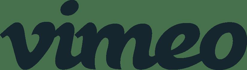 Vimeo Logo dark